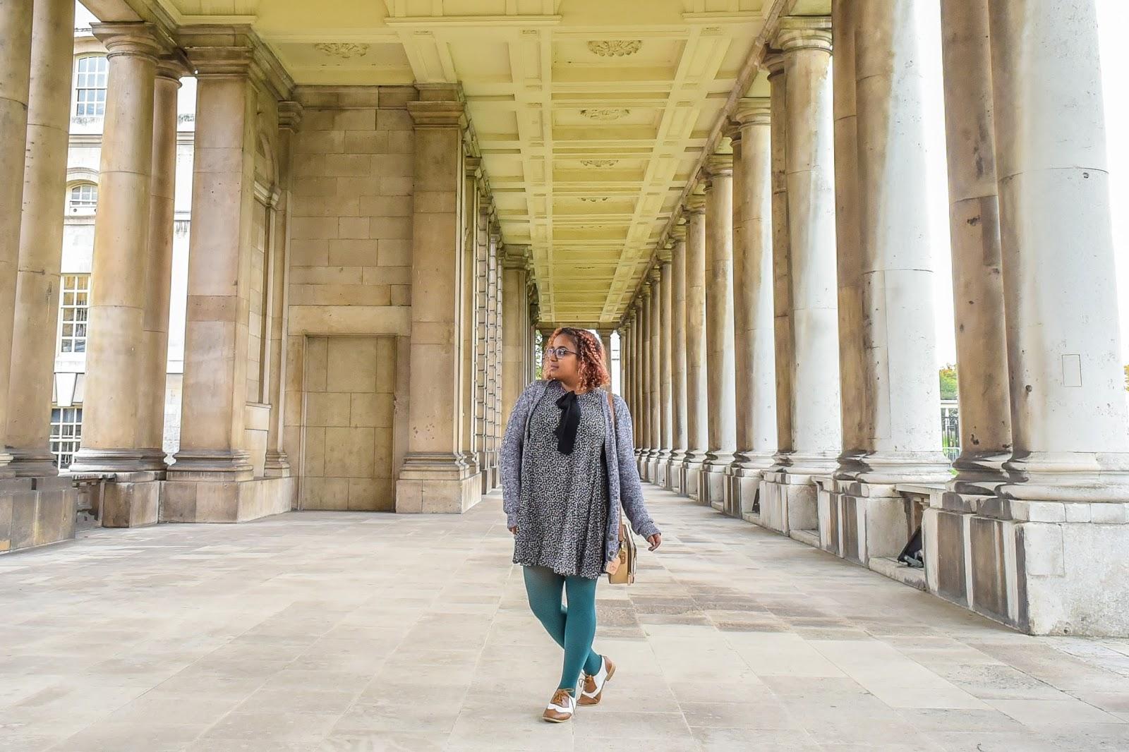 Ghenet Actually || Starry Zara Dress, shot in Greenwich