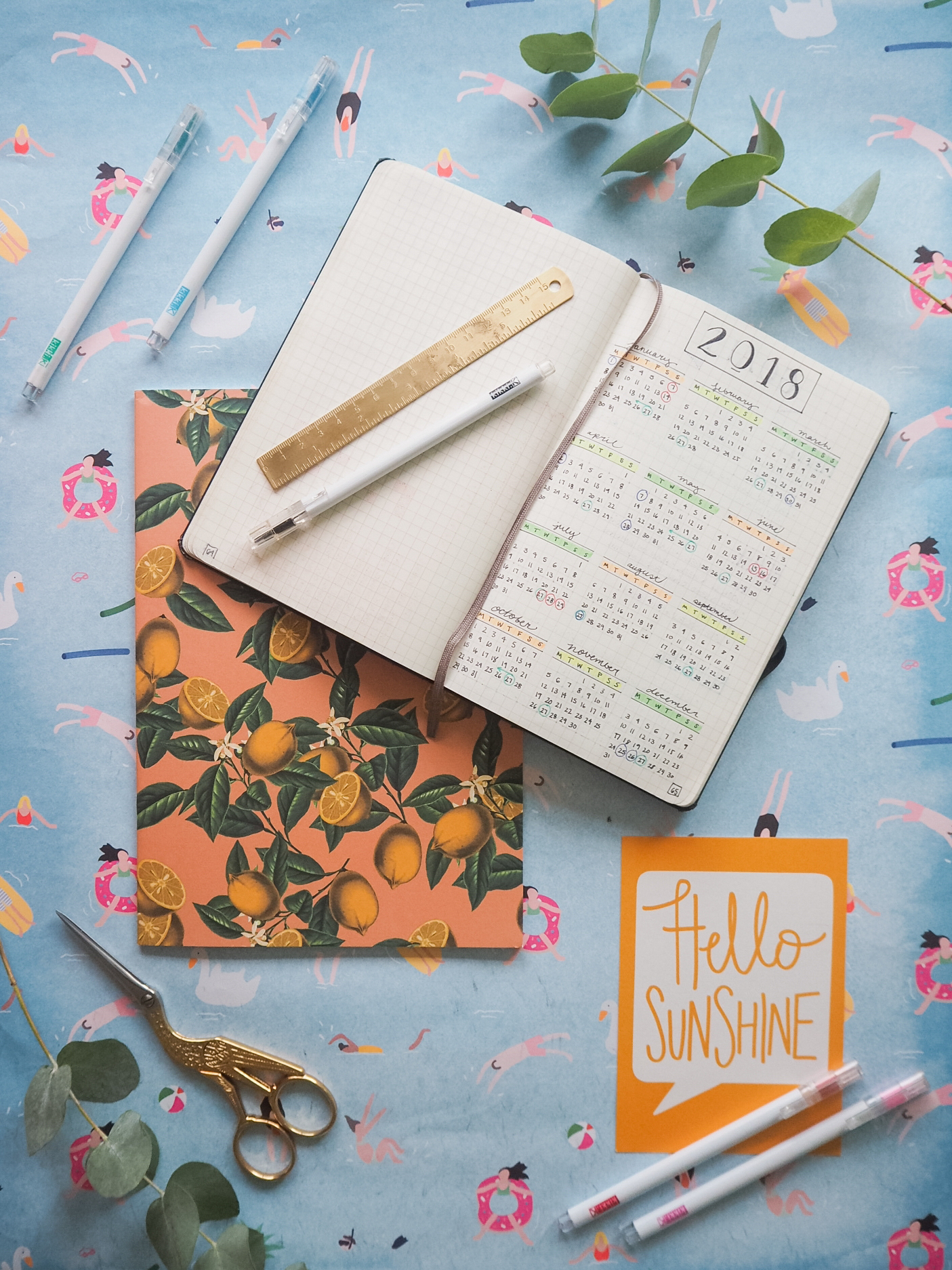 Ghenet Actually || Setting Up Your Bullet Journal