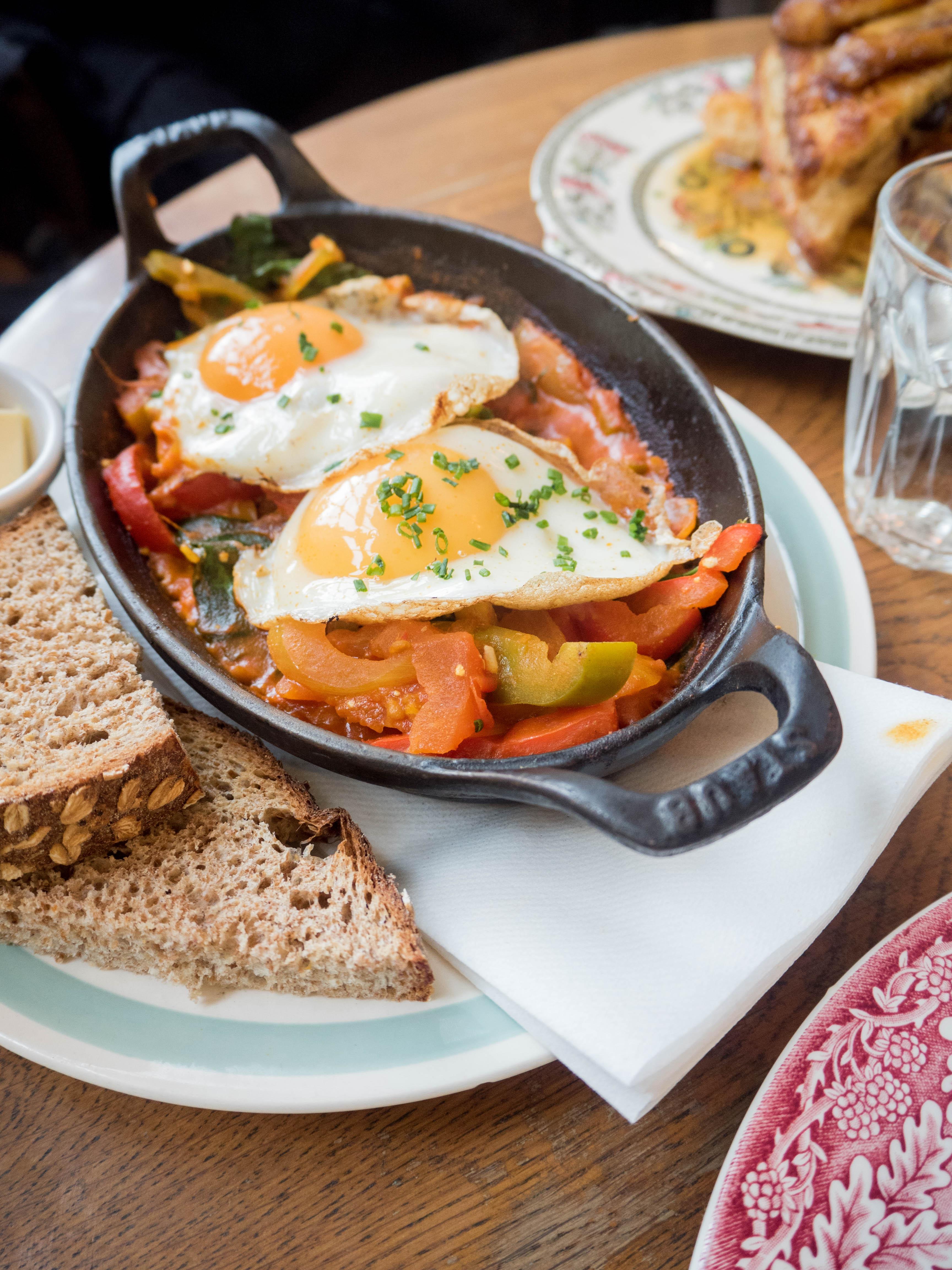 Ghenet Actually || London Eats: Eggbreak