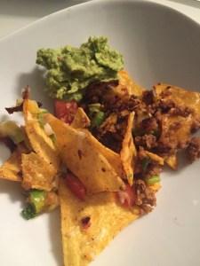 nachos todos met guacolome