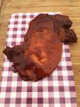 st louis pork steak in bbq saus