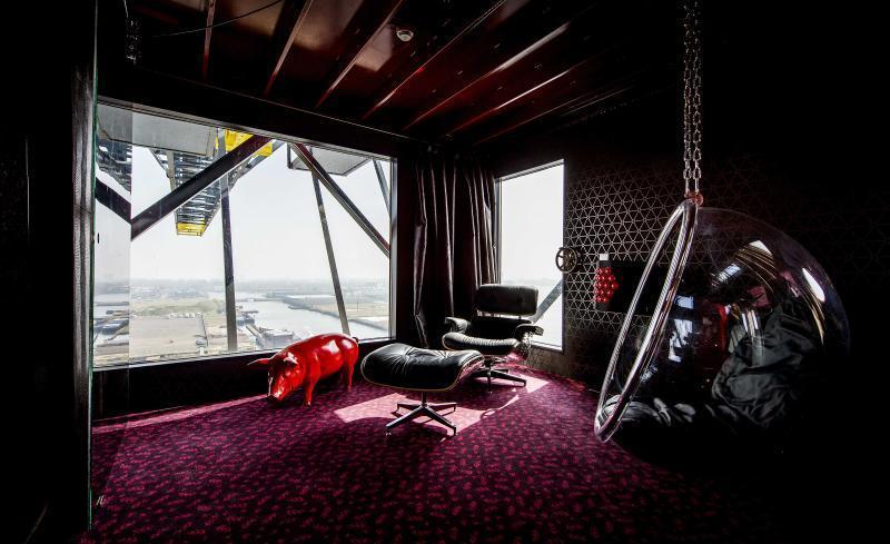 Интересные и необычные отели Амстердама. Hotels in Amsterdam