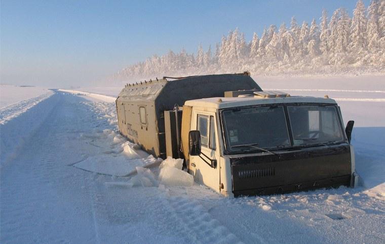 Деревня Оймякон или как живут люди в самой холодной деревне на Земле