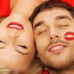 А как правильно целоваться