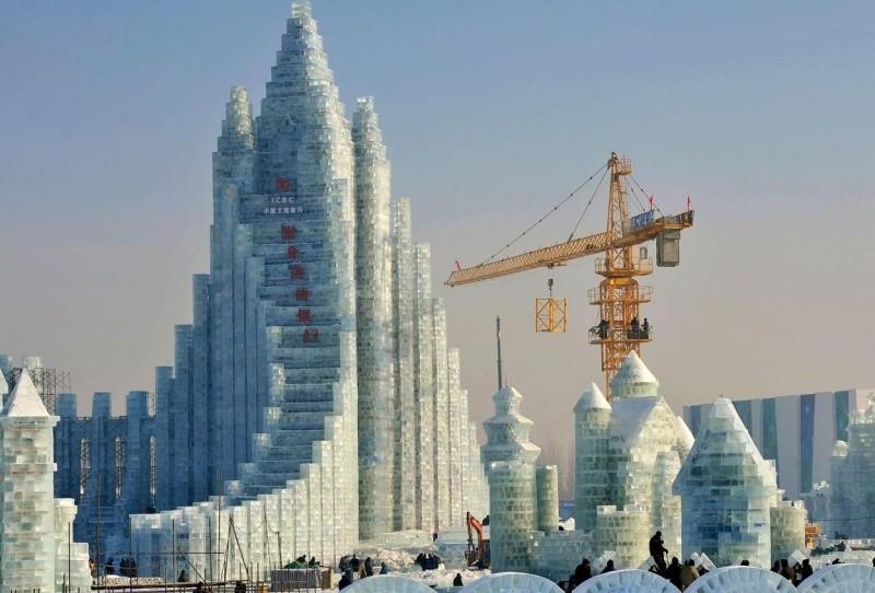 Какие бывают сугробы или красивые фото снежных скульптур