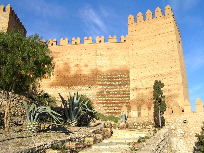 Замок Алькасаба-де-Альмерия