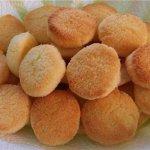 Домашнее песочное печенье с кокосом.