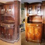 Как отремонтировать старый шкаф.