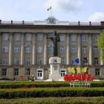 Город Бельцы. Молдова. 22 мая 2015 года ему исполнилось  594 года.