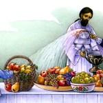 """Праздник """"Преображение Господне"""" /Яблочный спас/."""