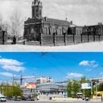Новосибирск в фотографиях нынешнего и прошлого столетия