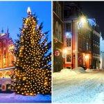 Новый  год в Норвегии и Перу.