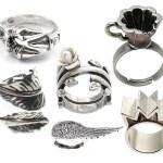 Как почистить серебряные украшения.