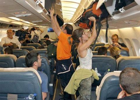 Что можно брать с собой в самолет. Ручная кладь.