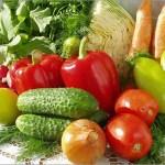 Места,где находятся в овощах нитраты в большем количестве?