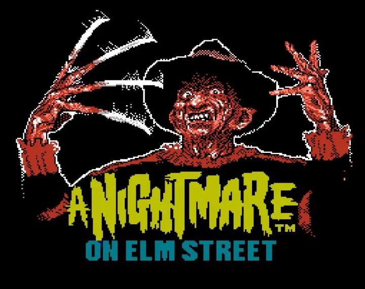 Spooky Retro game 2 Nightmare on Elm Street