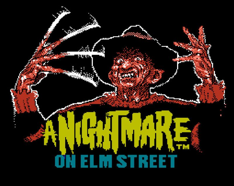 Spooky Retro game 2 Nightmare on Elm Street