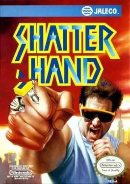 Shatterhand NES Cover