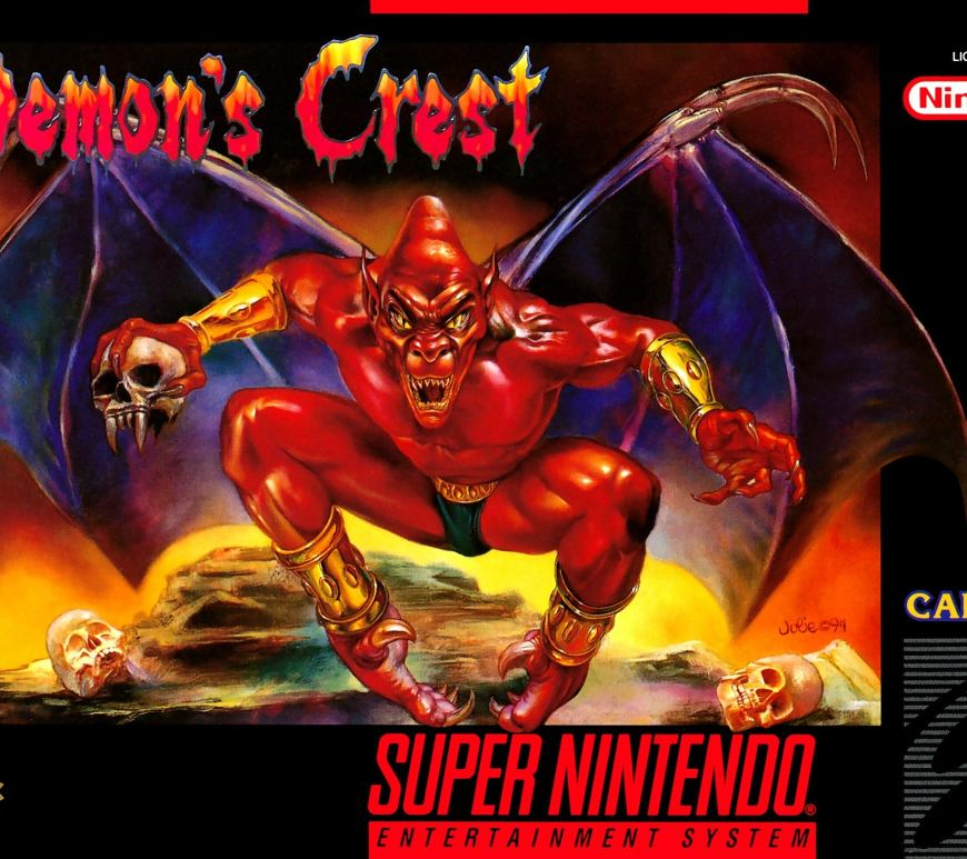SNES Demons Crest on Nintendo Switch Online cover