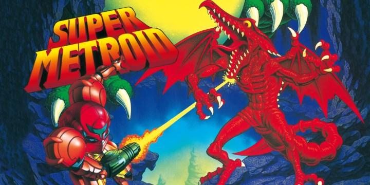 Super Nintendo Games on Switch - Super Metroid