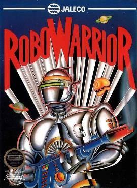 RoboWarrior NES cover art