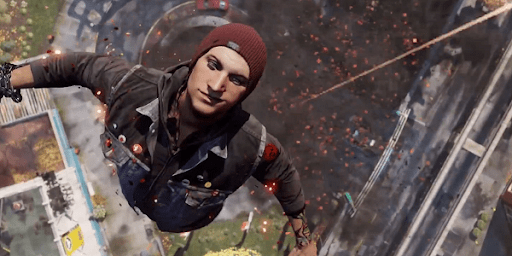 inFAMOUS Second Son flying