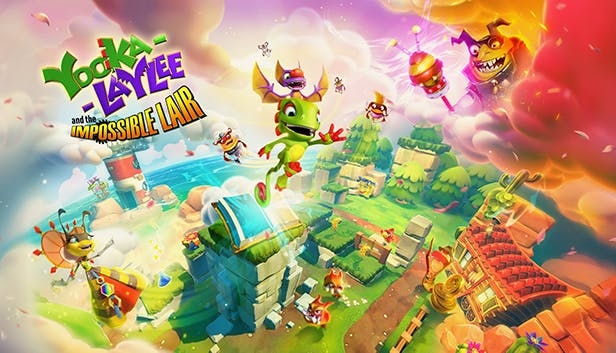 Yooka-Laylee and the Impossible Lair promo art