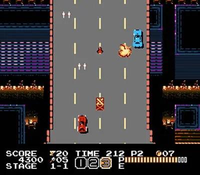 Vice: Project Doom NES driving segment