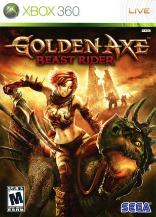 Retro Game Series - Golden Axe Beast Rider