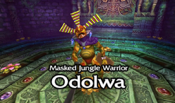 Legend of Zelda Bosses - Odolwa