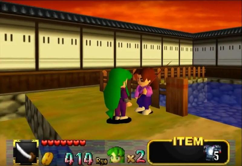Zazen Town - Mystical Ninja N64