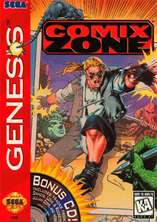 Top 3 Underrated Sega Genesis Games - Comix Zone cover