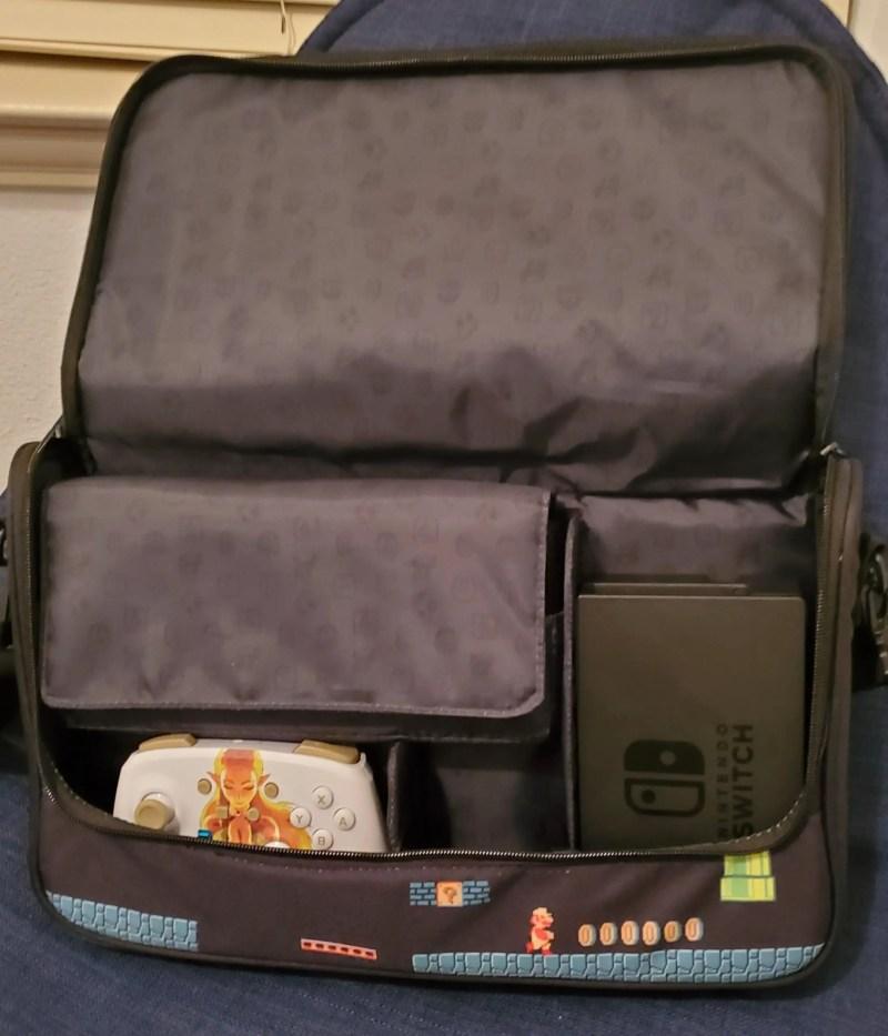 PowerA Everywhere Messenger Bag Super Mario Edition