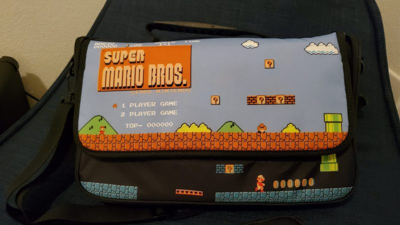 PowerA Everywhere Messenger Bag Super Mario Edition