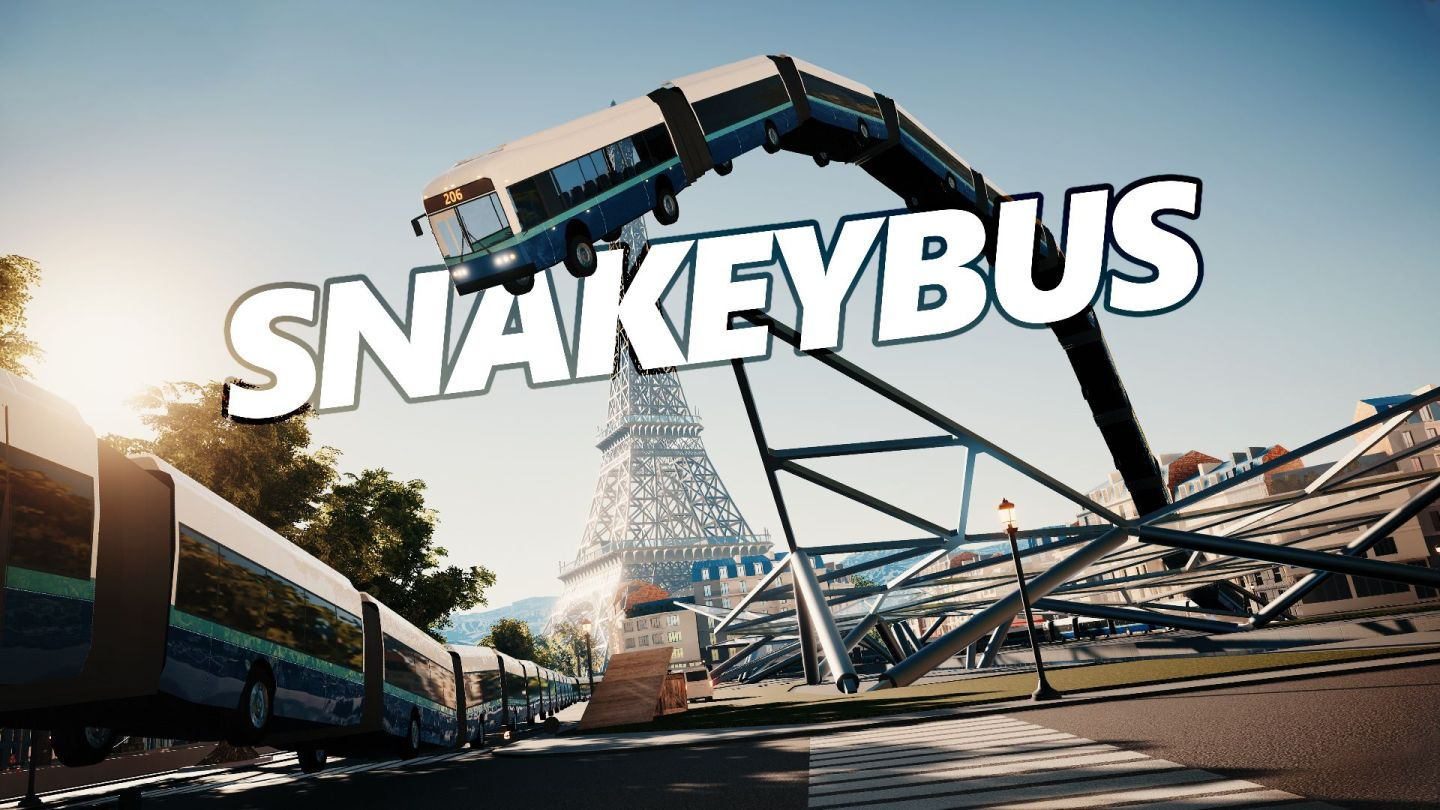 Snakeybus for Nintendo Switch splash page