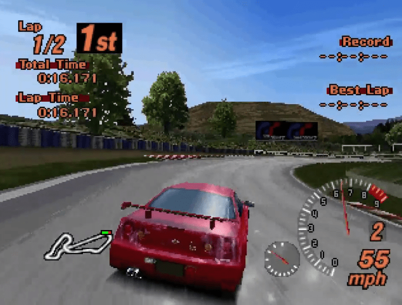 PS1 vs N64 - Gran Turismo 2