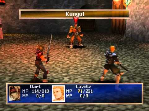 PS1 vs N64 - Legend of Dragoon gameplay