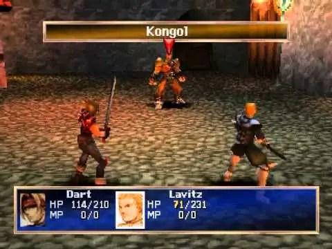 PS1 vs N64 - Legend of Dragoon gameplay