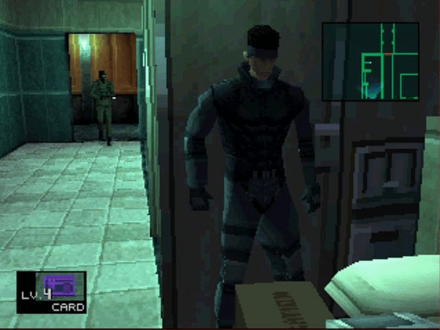 PS1 vs N64 - Metal Gear Solid gameplay