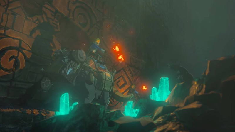 Will Breath of the Wild 2 have dungeons - interior dungeon image