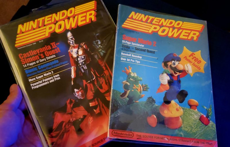Nintendo Power Vol 1 and 2