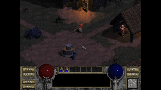 Diablo 1 - Tristram screenshot