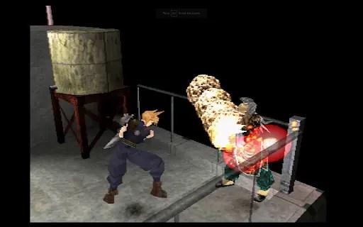 Ehrgeiz for PS1 Meteorain screenshot