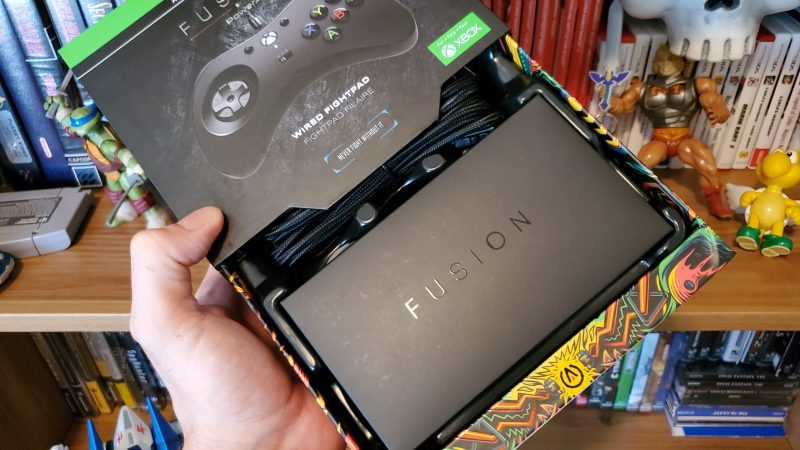 PowerA Fusion Fightpad packaging