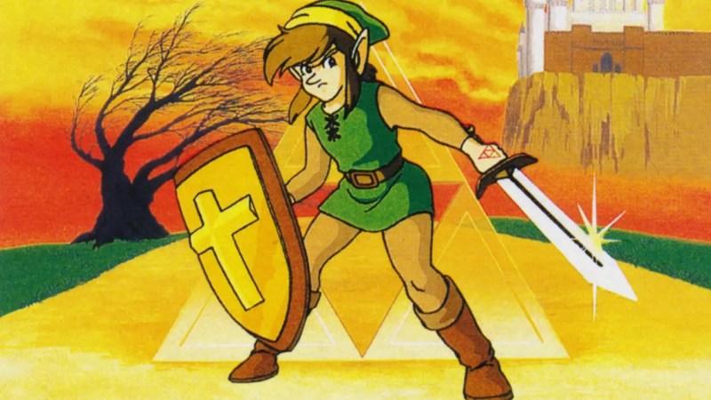 Zelda 2: The Adventure of Link link pic