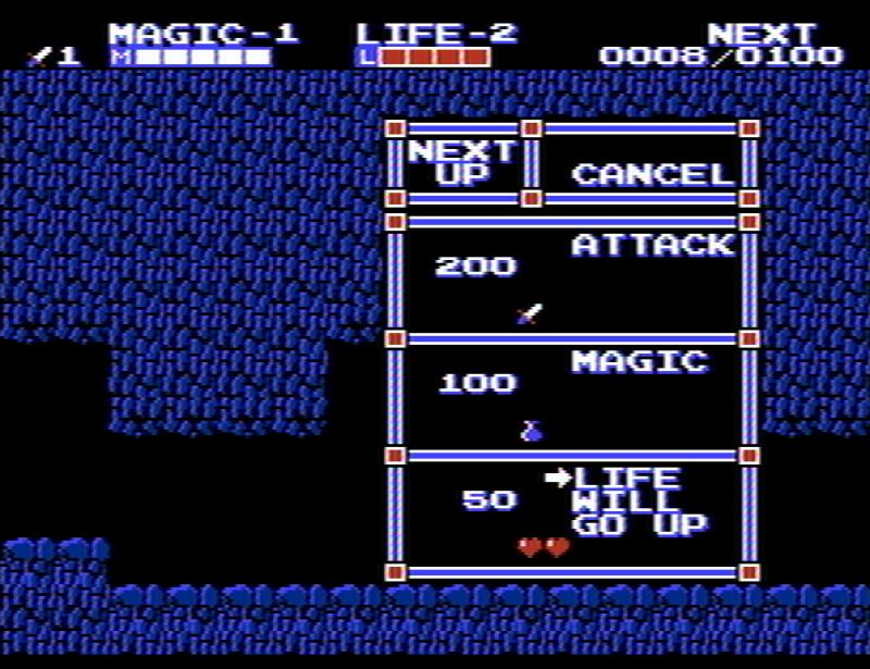 Zelda 2 - RPG elements screenshot