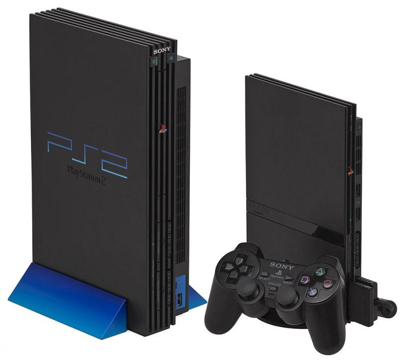 PS2 games getting expensive PS2 fatboy and slim versions side by side
