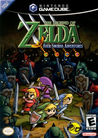 Legend of Zelda: Four Swords Adventures cover art