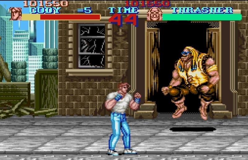 Final-Fight-SNES-Capcom-Thrasher-Cody