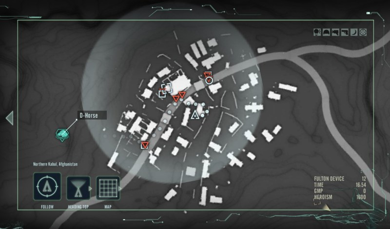 Metal Gear Solid V the Phantom Pain companion app